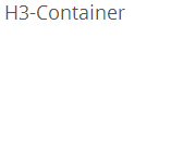 H3-Container