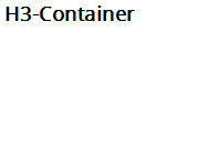 H3 Container